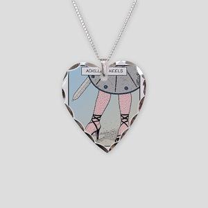 Achilles heels Necklace Heart Charm