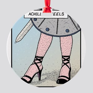 Achilles heels Round Ornament