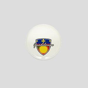 guadeloupe Mini Button
