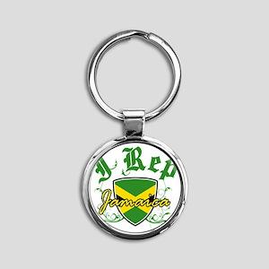 jamaica new Round Keychain