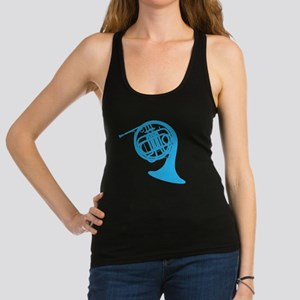 french horn Racerback Tank Top