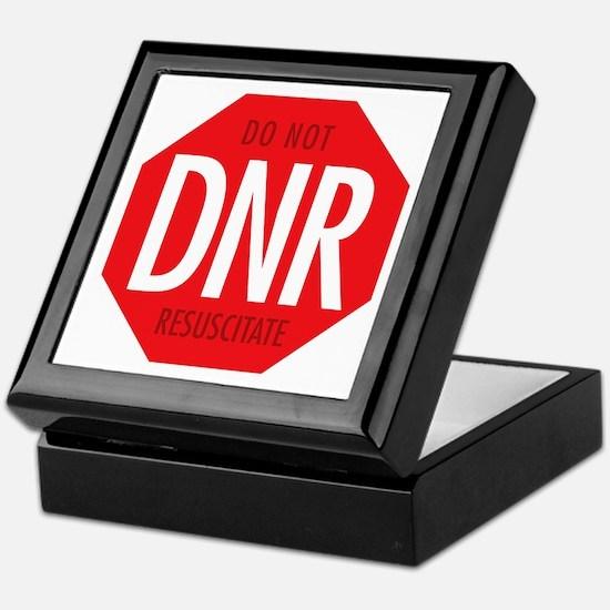 dnr-do-not-resusciatate-02a Keepsake Box