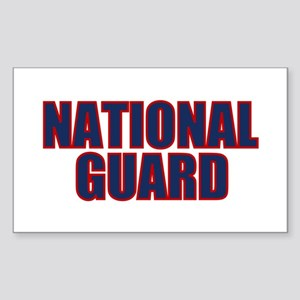 NATIONAL GUARD Rectangle Sticker