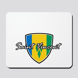 saint vincent Mousepad
