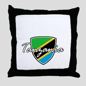 tanzania1 Throw Pillow