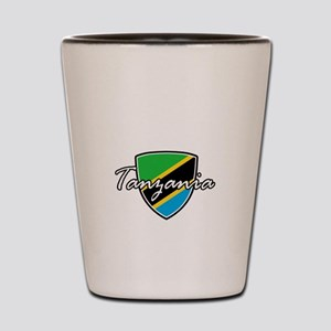 tanzania1 Shot Glass