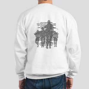 Soldier's Creed, National Gua Sweatshirt