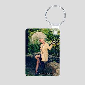 Miss Sarah #1 Aluminum Photo Keychain