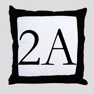 2A Throw Pillow