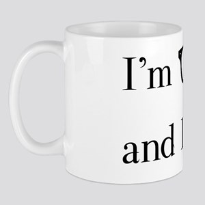 im geek and i love it Mug