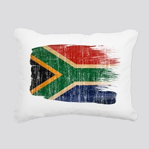 South Africatex3-paint s Rectangular Canvas Pillow