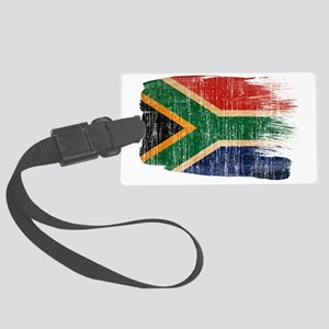 South Africatex3-paint style age Large Luggage Tag