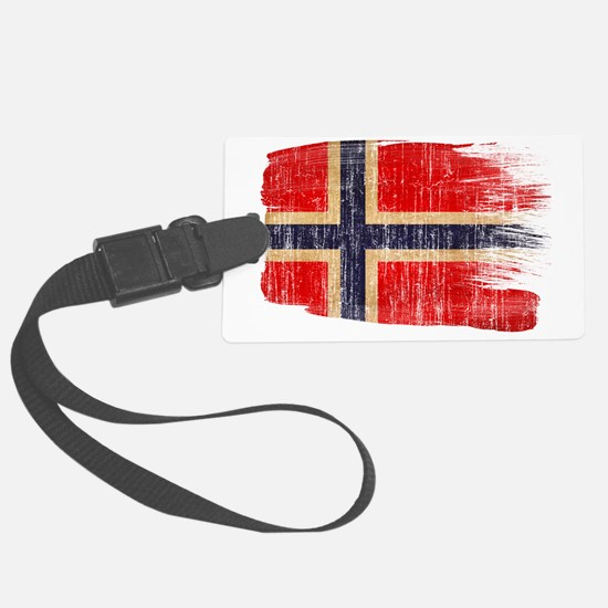 Norwaytex3-paint style aged copy Luggage Tag