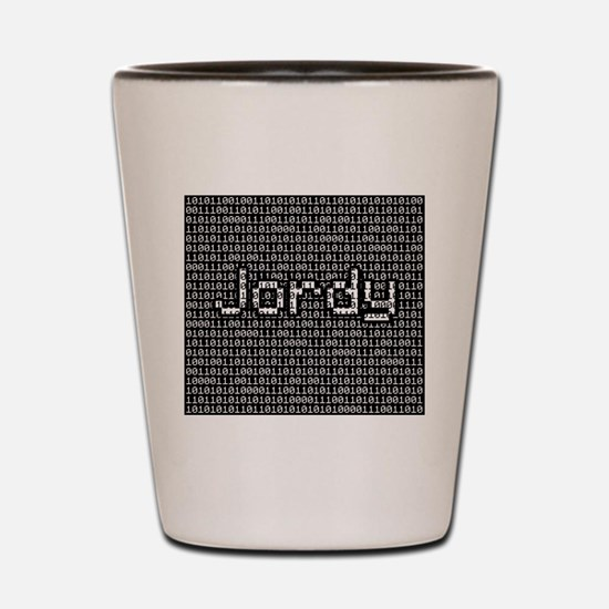Jordy, Binary Code Shot Glass