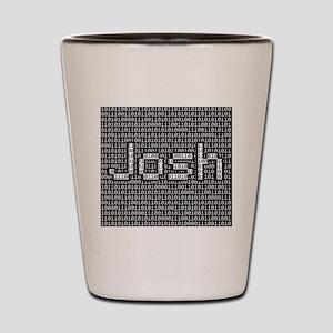 Josh, Binary Code Shot Glass