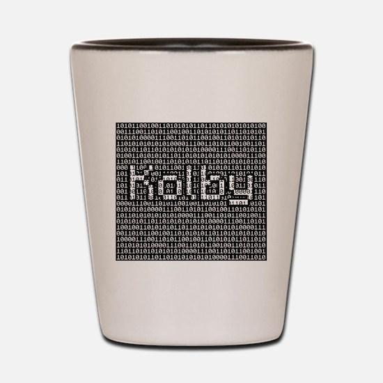 Kolby, Binary Code Shot Glass