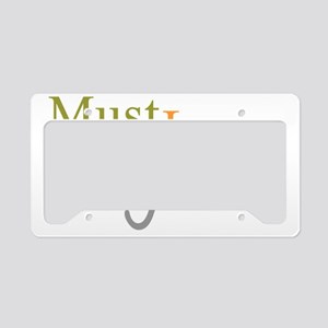 mustloveboykinspaniels_black License Plate Holder
