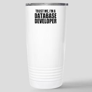 Trust Me, I'm A Database Developer Travel Mug
