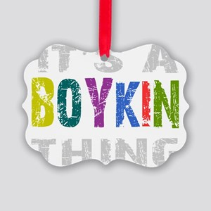 boykinthing_black Picture Ornament