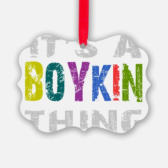 boykinthing_black Ornament
