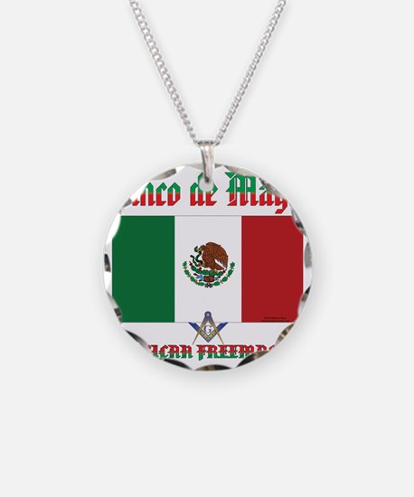 Cinco De Mayo Mason Necklace