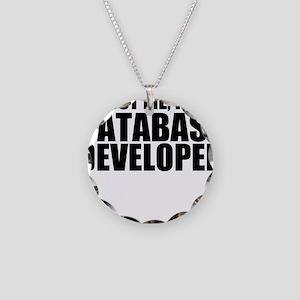 Trust Me, I'm A Database Developer Necklace