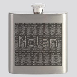 Nolan, Binary Code Flask