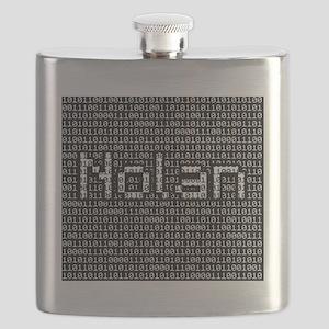Nolan, Binary Code Flask