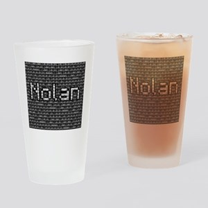 Nolan, Binary Code Drinking Glass