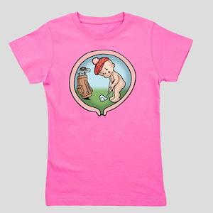 golf-womb-T Girl's Tee