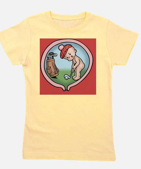golf-womb-BUT Girl's Tee
