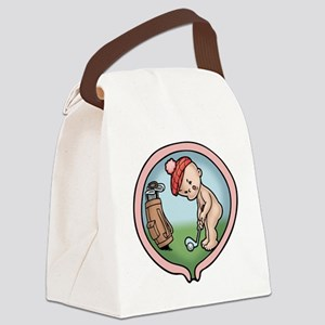 golf-womb-T Canvas Lunch Bag