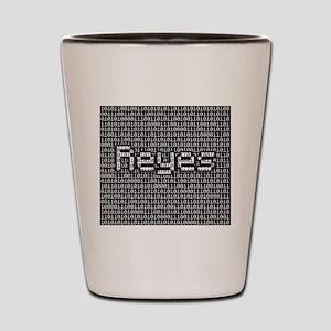 Reyes, Binary Code Shot Glass