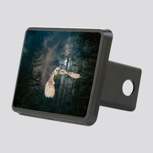 Owl at Midnight Rectangular Hitch Cover