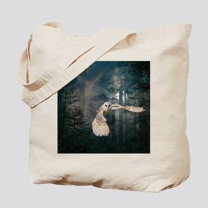 Owl at Midnight Tote Bag