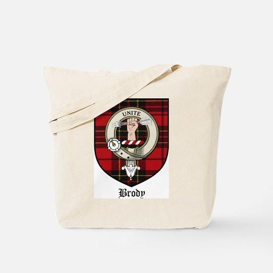 Brody Clan Crest Tartan Tote Bag