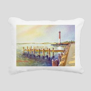 Barnegat Light Rectangular Canvas Pillow