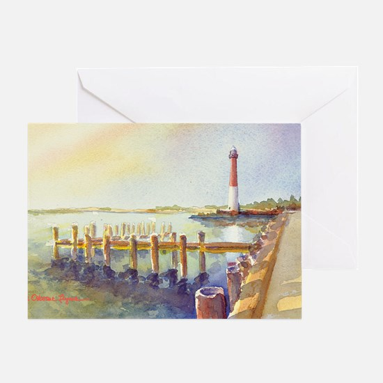 Barnegat Light Greeting Card