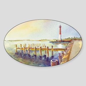 Barnegat Light Sticker (Oval)