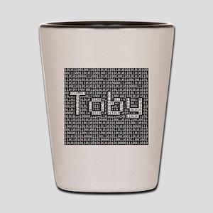 Toby, Binary Code Shot Glass