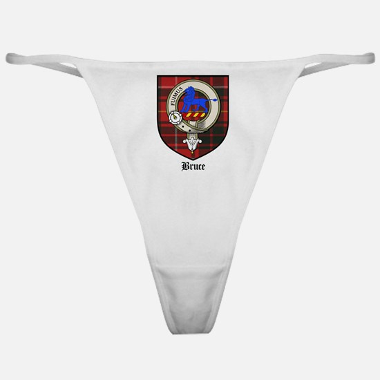 Bruce Clan Crest Tartan Classic Thong