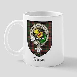 Buchan Clan Crest Tartan Mug