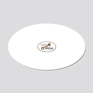 unlockingautism-AuSomeMom-ou 20x12 Oval Wall Decal