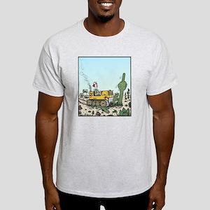 Cactus giving the Finger Light T-Shirt
