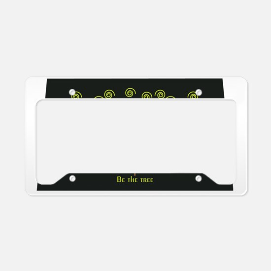Be the tree License Plate Holder