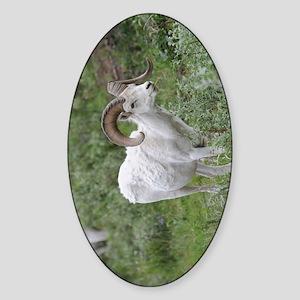 NookSleeve_sheep_1 Sticker (Oval)