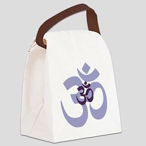 om aum chant symbol Canvas Lunch Bag