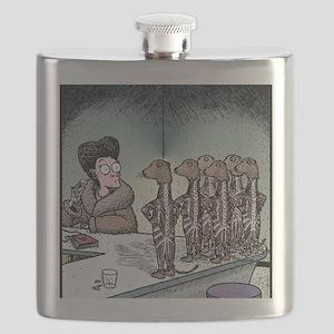 Angry Minks Flask