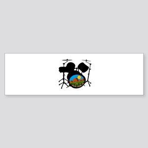 DRUMS Bumper Sticker