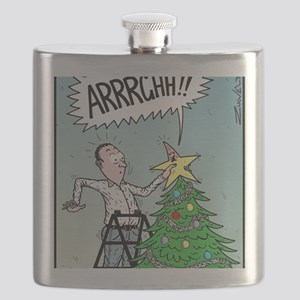 Christmas tree Stars butt surprise Flask